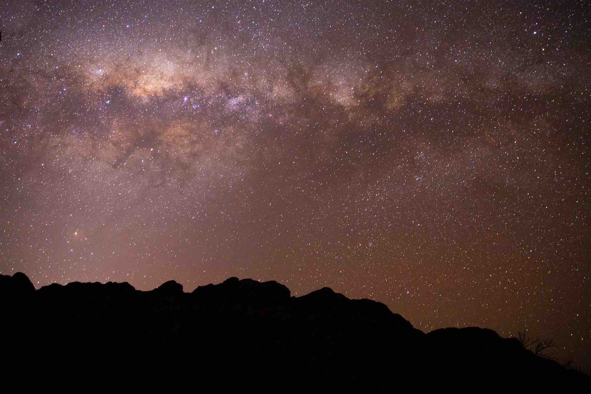 Stars at Arkaba